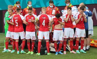 Christian Eriksen a été victime d'un malaise cardiaque en plein match lors de Danemark-Finlande, le 12 juin 2021.