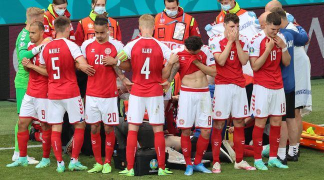 Danemark-Finlande : Victime d'un malaise sur le terrain, le Danois Eriksen dans un « état stable » annonce l'UEFA