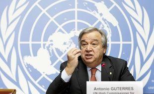 Antonio Guterres en décembre 2015 à Genève