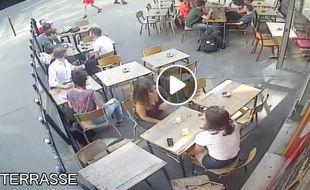 Capture d'écran de la vidéo diffusée sur la page de Marie Laguerre.