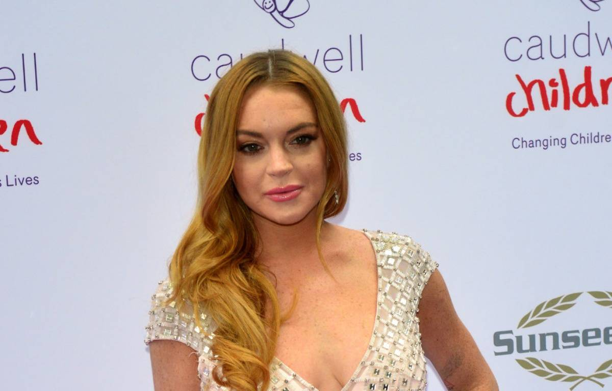 L'actrice Lindsay Lohan à Londres – WENN