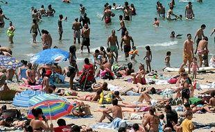 La plage des Catalans (7e).