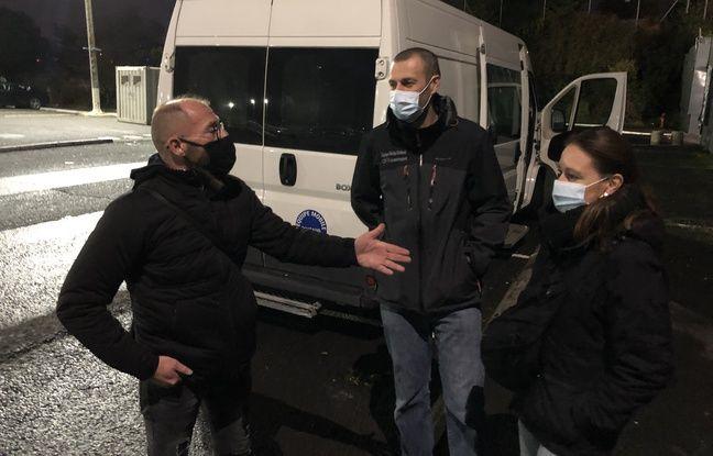 Deux infirmiers et un membre d'association en lien avec les SDF composent l'équipe Rimbaud