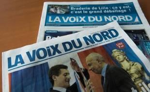 Le quotidien régional «La Voix du Nord» (illustration).