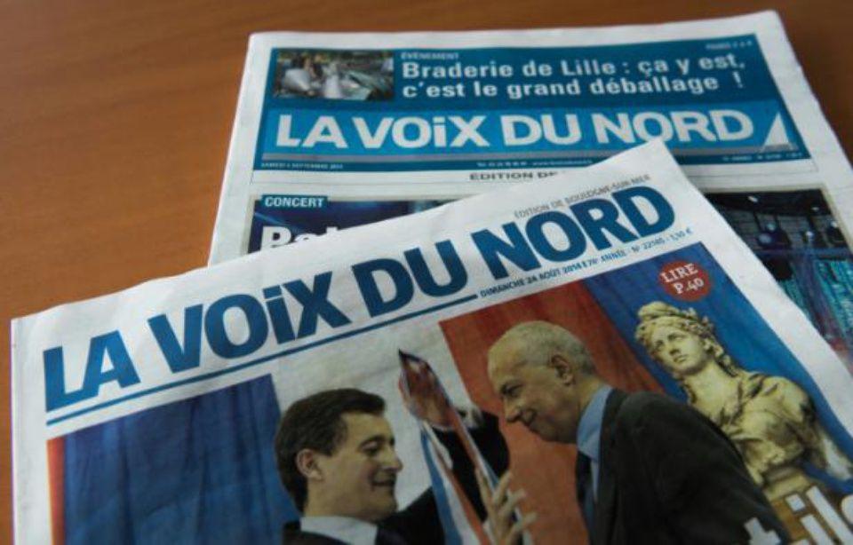 Valenciennes : Le bureau de «La Voix du Nord» visé par un incendie criminel 960x614_la-une-de-la-voix-du-nord-le-8-septembre-2014