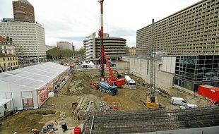 Le futur gratte-ciel culminera à 200 m de haut à l'angle des rues Garibaldi et Lafayette.