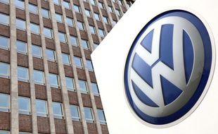 Illustration de la société d'automobile allemande Volkswagen.