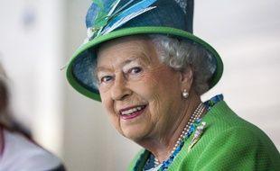 La reine Elizabeth à Glasgow durant les Commonwealth Games, le 24 juillet 2014.