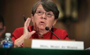 La présidente de la SEC Mary Jo White, le 9 septembre 2014 à Washington
