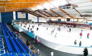 La patinoire du Petit-Port.