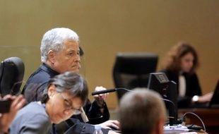 Le procureur de la République, Gérard Aldigé, lors du premier procès Bettencourt le 26 janvier 2015 à Bordeaux