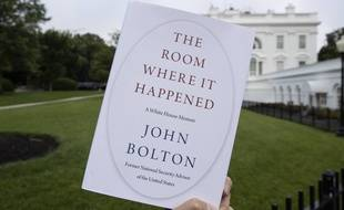Le livre de John Bolton que la Maison Blanche a tenté d'interdire.
