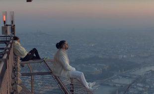 NOS et Ademo trônent au sommet de la Tour Eiffel dans le clip de «Au DD»