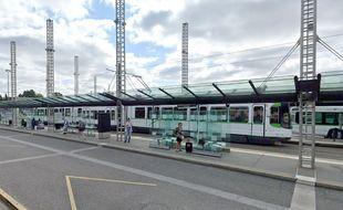 L'agression est survenue au niveau de la station de tram du Cardo.