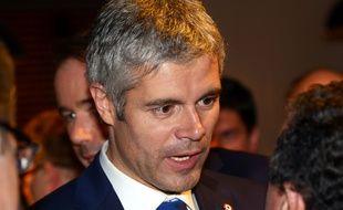 Laurent Wauquiez prendra ses fonctions à la tête de la nouvelle région Auvergne-Rhône-Alpes le 4 janvier 2016. CréditI/SIPA