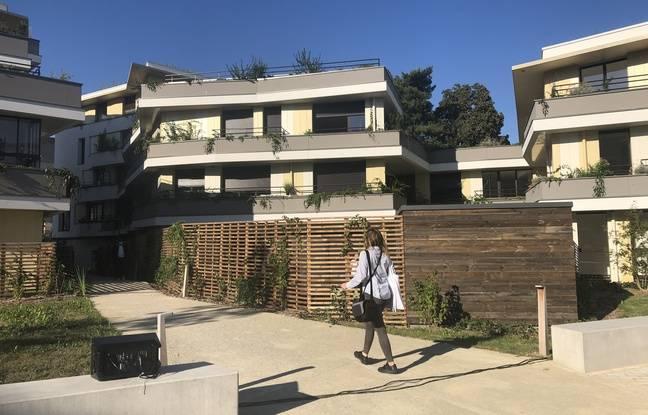 Plus de 150 logements ont poussé à la place de l'ancienne maison d'arrêt de Nantes