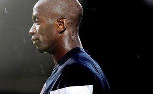 Le capitaine du PSG, Claude Makelele, le 23 juillet 2009 à Evry Bondoufle.
