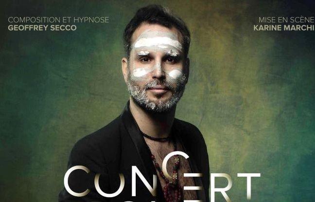 Le musicien et hypnotiseur Geoffrey Secco