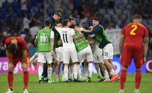 L'Italie élimine la Belgique