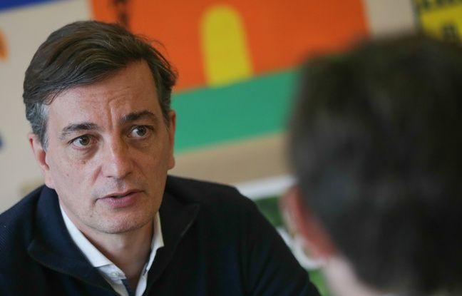 Alain Fontanel, candidat LREM aux municipales 2020 à Strasbourg. Le 17 juin 2020.