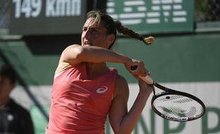 Virginie Razzano a été éliminée au troisième tour des qualifications de Roland-Garros.