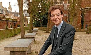 Stéphane Sieczkowski-Samier, maire d'Hesdin.