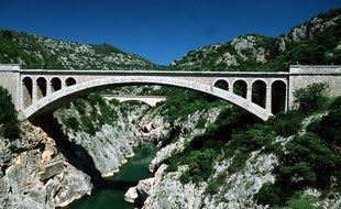 Le pont du Diable dans l'Hérault