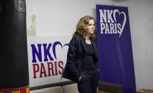 Nathalie Kosciusko-Morizet au gymnase Japy, à Paris, le 10février 2014.