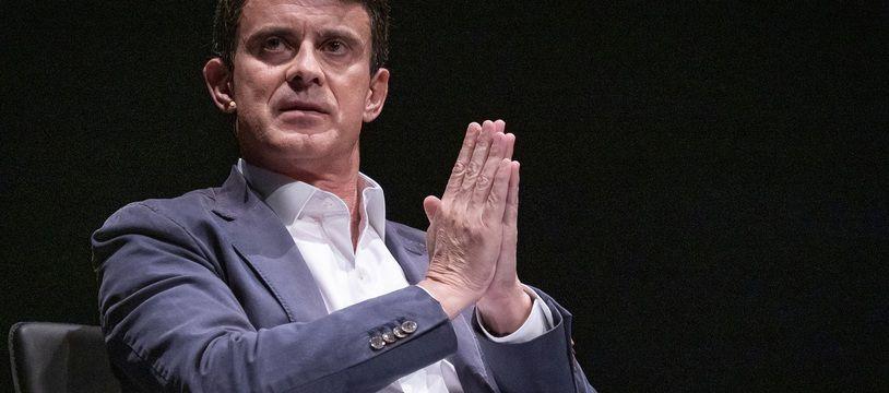 Manuel Valls à Barcelone en mai 2019