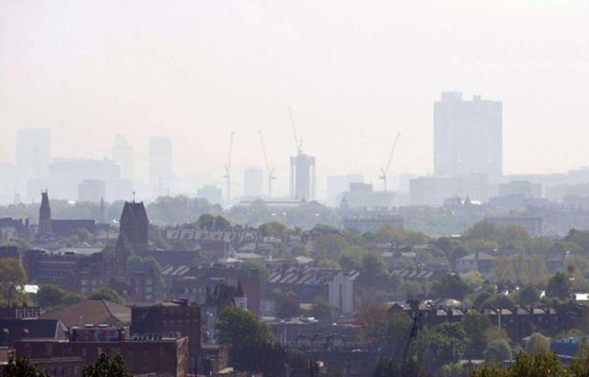 Pollution au dessus de Londres en avril 2011. – DDAA/ZOB/WENN.COM/SIPA