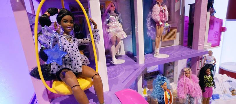 Des poupées Barbie à New York, le 24 septembre 2021 (illustration).