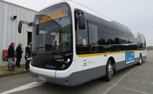 En démonstration toute la semaine à Rennes, les premiers Bluebus seront mis en service sur le réseau rennais courant avril.