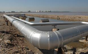 Illustration d'un gazoduc.