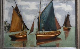 Cette peinture de Bernard Buffet de 1972 est estimée entre 80.000 et 100.000 euros.