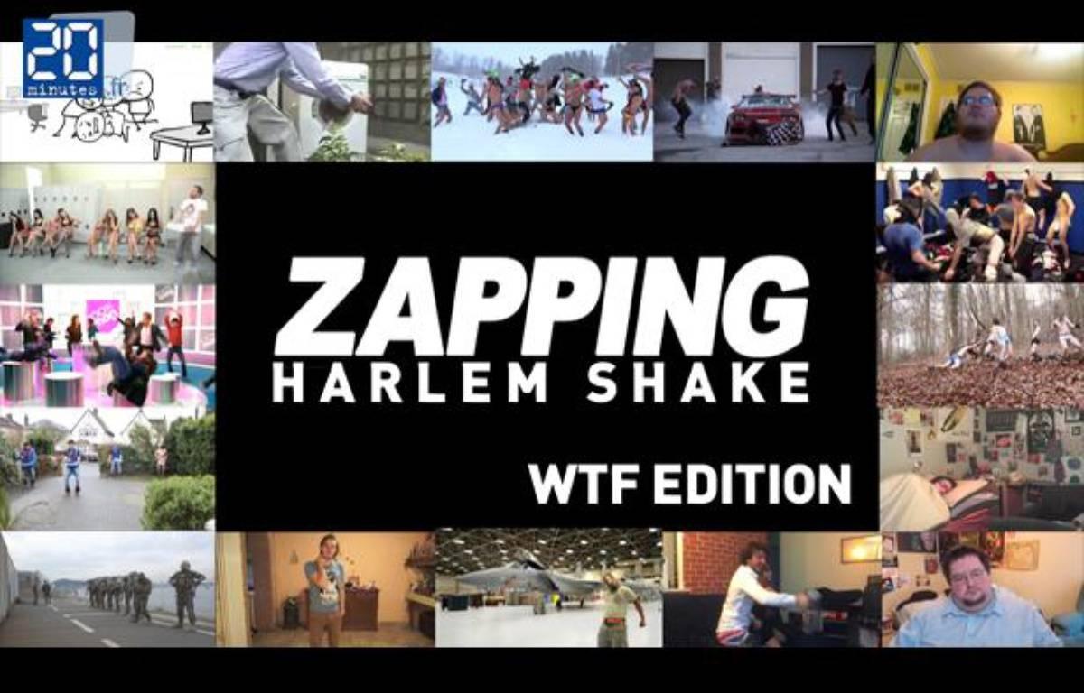 Aperçu zapping Harlem Shake. – no credit