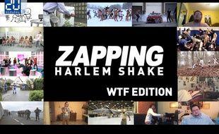 Aperçu zapping Harlem Shake.