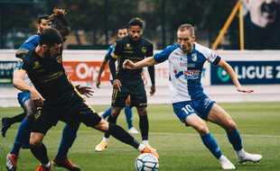 Dimitri Boudaud découvre la Ligue 2 avec Dunkerque