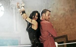 """La danseuse Sofia Boutella et Falk Hentschel dans le film """"Street Dance 2"""""""