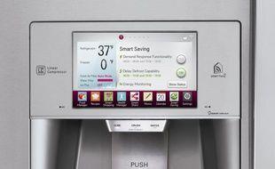 Comme d'autres marques, LGtravaille sur des concepts de réfrigérateurs intelligents, en liaison direct avec nos smartphones et tabelttes.