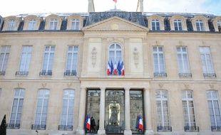 Le palais de l'Elysée, à Paris, en mars 2013.