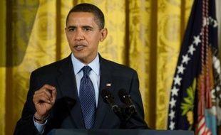 Le président américain Barack Obama a lancé mercredi un sévère avertissement à l'opposition républicaine au Congrès qui fait bloc contre son gigantesque plan de relance de l'économie, sur le ton le plus résolument partisan adopté depuis sa prise de fonctions.