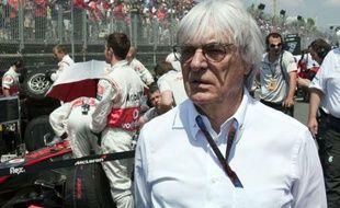 Bernie Ecclestone, en juin 2010, au Canada.