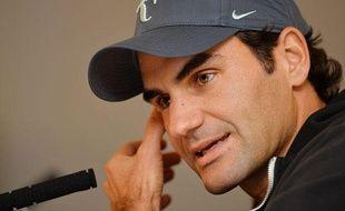 Le Suisse Roger Federer à Londres, le 3 novembre 2013.