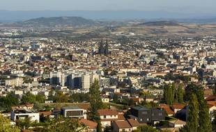Clermont-Ferrand, chef-lieu du département du Puy-de-Dôme