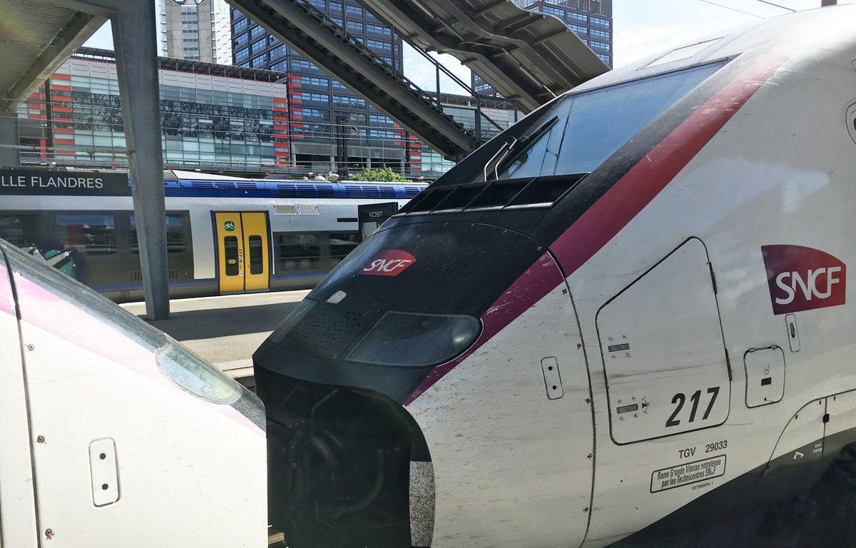 Lille, le 15 mai 2017 - TGV SNCF en gare de Lille Flandres – Olivier Aballain / 20 Minutes
