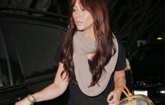 Jennifer Love Hewitt à West Hollywood, en septembre 2011.