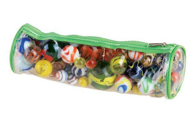 Marbles are still popular with schoolchildren.
