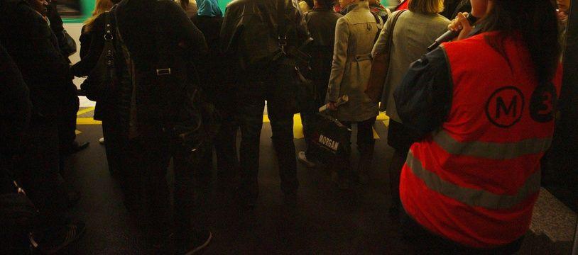 Un quai de métro un jour de grève. (Archives)