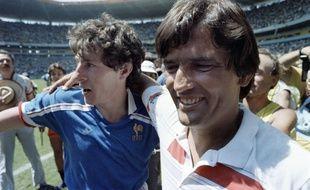 Henri Michel avec Luis