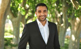 Amine El Khatmi, élu socialiste d'Avignon.